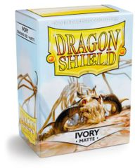 Dragon Shield 100ct Matte Ivory