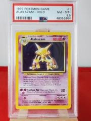 Alakazam - Holo - Base Set Unlimited - PSA 8.5 NM-MT+ - 48356804