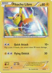 Pikachu Libre - 30/30 - XY Trainer Kit: Pikachu Libre & Suicune (Pikachu Libre)