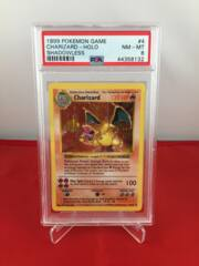 Charizard - Holo - Base Set Shadowless - PSA 8 NM-MT 44358132