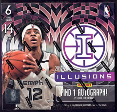 2019-20 Panini Illusions Basketball Hobby Box