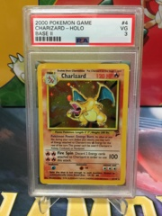 Charizard - Holo - Base Set 2 - PSA 3 VG