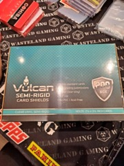 Vulcan Semi-Rigid Card Shields Box of 200