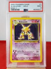 Alakazam - Holo - Base Set 2 - PSA 9 MINT - 48356977