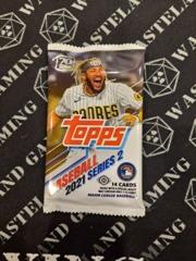 2021 Topps Series 2 Baseball Hobby Pack 14 Cards