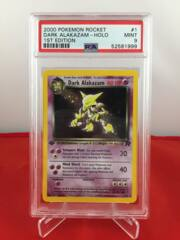 Dark Alakazam - Holo - 1st Edition - Team Rocket - PSA 9 MINT 52581999