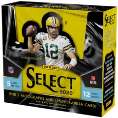 2020 Panini Select Football Hobby Box