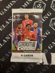 2021 Topps Chrome Stadium Club UEFA Hobby Pack