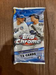 2020 Topps Chrome Baseball Hobby Jumbo Pack