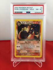 Dark Charizard - Holo - Team Rocket - PSA 8 NM-MT 52992633