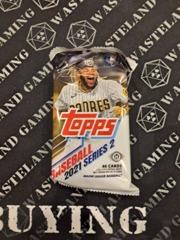 2021 Topps Series 2 Baseball Hobby Jumbo Pack 46 Cards