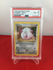 Chansey - Base Set Shadowless - PSA 8 NM-MT 41231391