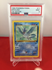 Articuno - 1st Edition Fossil - PSA 9 MINT