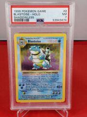 Blastoise - Holo - Shadowless Base Set - PSA 7 NM - 53943474