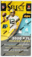 2020 Panini Select Football Hobby Hybrid Box