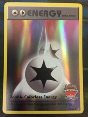 Double Colorless Energy - 90/108 - North America Championships Promo