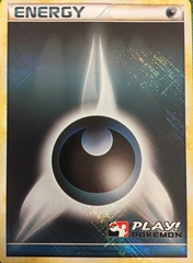 Darkness Energy - Promotional - 2010 Crosshatch Play! Pokemon Promo