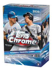 2020 Topps Chrome Baseball Blaster Box