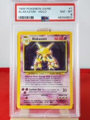 Alakazam - Holo - Base Set Unlimited - PSA 8 NM-MT - 4835603
