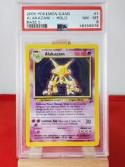 Alakazam - Holo - Base Set 2 - PSA 8 NM-MT - 48356978