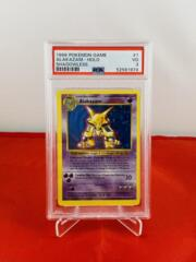Alakazam - Holo - Shadowless Best Set - PSA 3 VG - 52581974