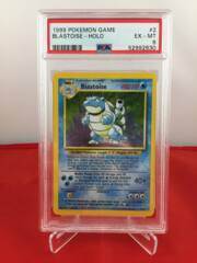 Blastoise - Holo - Base Set - PSA 6 EX-MT 52992630