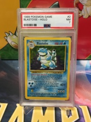 Blastoise - Holo - PSA 7 NM - Base Set Unlimited