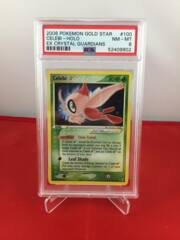 Celebi Gold Star - EX Crystal Guardians - PSA 8 NM-MT 52409902