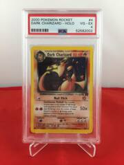 Dark Charizard - Holo - Team Rocket - PSA 4 VG-EX 52582002