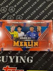 2021 Topps Chrome Champions League Merlin Hobby Box