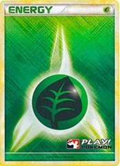 Grass Energy - 2010 Crosshatch Holo Play! Pokemon Promo