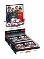 2020 Topps Chrome Formula 1 Hobby Box