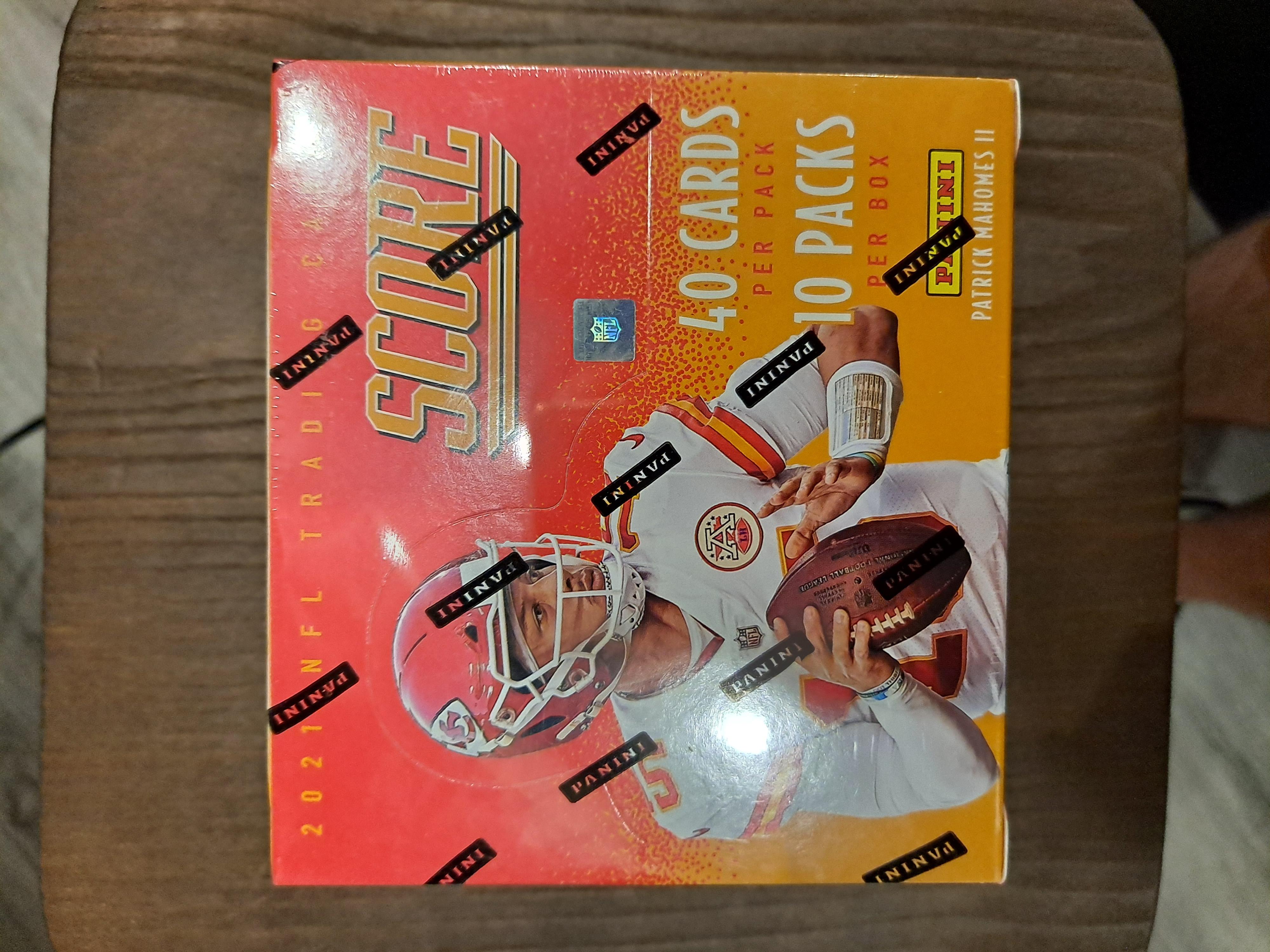 2021 Panini Score Football Hobby Box