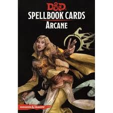 Dungeons And Dragons: Spellbook Cards 2nd Ed. - Arcane Deck