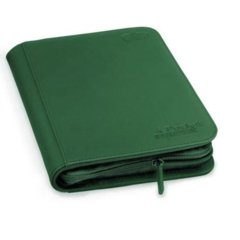Ultimate Guard Zipfolio XenoSkin - 4 Pocket -  Green