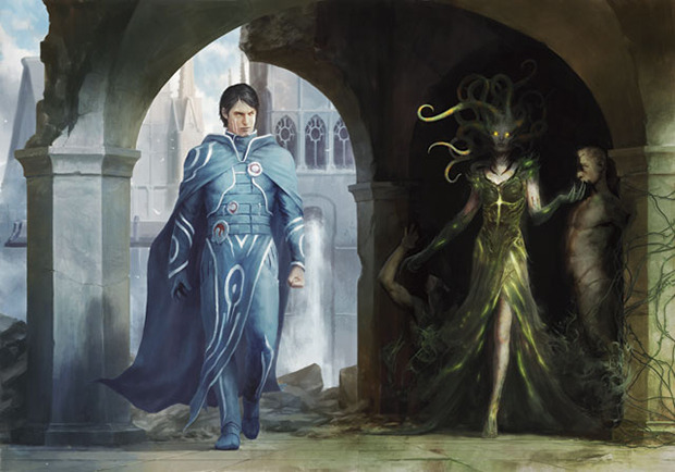 Jace vs vraska art
