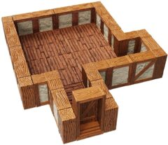 Warlock Tiles: Town & Village I - Straight Walls