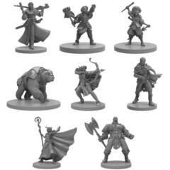 Critical Role Unpainted Miniatures - Vox Machina