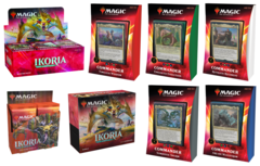 Ikoria: Lair of Behemoths - King Combo - Booster Box + Bundle + Collector Box + Commander Set of 5 (Buy-A-Box Promo included)