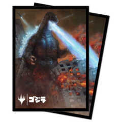 Ultra Pro - Ikoria: Lair of Behemoths Deck Protector Sleeves - Godzilla, King of the Monsters