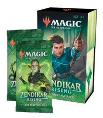 Zendikar Rising Prerelease Pack + 2 Extra Boosters (Prerelease-at-Home Kit)