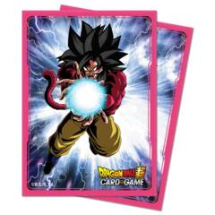 Ultra Pro - Dragon Ball Super: Standard Size Deck Protector 65Ct - Super Saiyan 4 Goku