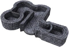 Warlock Tiles: Dungeon Tile I - Angles & Curves