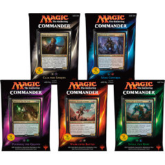 Commander 2015: Set of 5