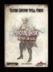 Pathfinder Second Edition Spell Cards: Arcane Basic