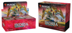 Ikoria: Lair of Behemoths - Combo Booster Box + Bundle (Buy-A-Box Promo & MTG Arena swag bag code included)