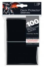 Ultra Pro 100ct Standard Deck Protector Black Sleeves
