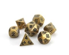 RPG Set - Battleworn Gold w/ Black