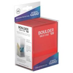 Ultimate Guard - Deck Case 80+ Boulder - Ruby