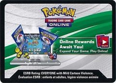 XY - BREAKthrough Booster Pack Code Card